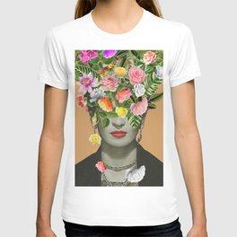 Frida Floral (Orange) T-shirt