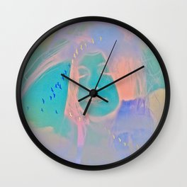 Kiss me just once again and I'll be on my way Wall Clock