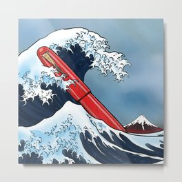 Great Wave - Namiki Metal Print