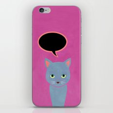 cat -Alice iPhone & iPod Skin