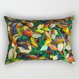 autumn leaves 2 Rectangular Pillow