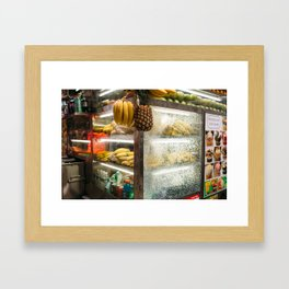 New York City Pineapple - Photography by Jackie Dives Framed Art Print