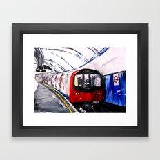 London Underground Northern Line Fine Art Framed Art Print