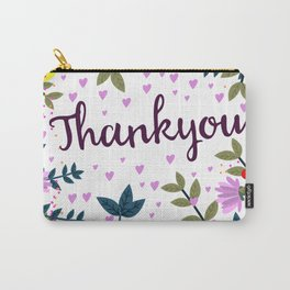 Thankyou Carry-All Pouch