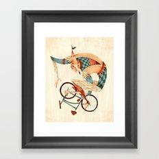 Speed Demon Framed Art Print