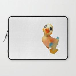 Mentalembellisher Mad-Eyed Vintage Rubber Duck  Laptop Sleeve