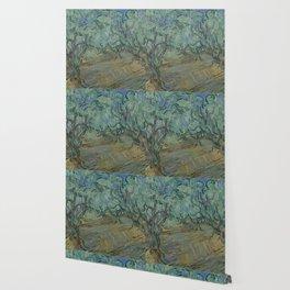 """Vincent Van Gogh """"Olive Grove"""" Wallpaper"""