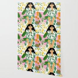 Floral fever Wallpaper