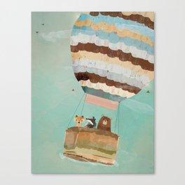 a little wondrous adventure Canvas Print