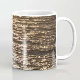 Sun ray on the sea Coffee Mug