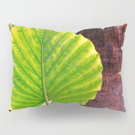 Green Heart Pillow Sham