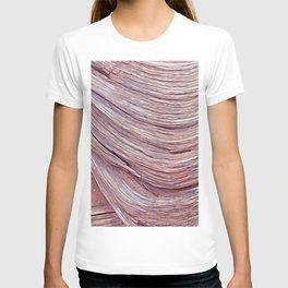 original wood texture T-shirt