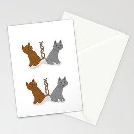 Kitty x2 Stationery Cards