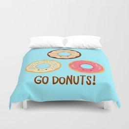 Go doNUTS! Duvet Cover
