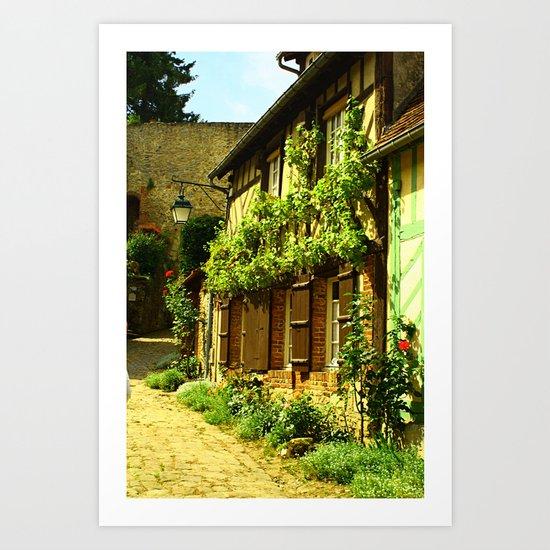 La Petit Ruelle Art Print