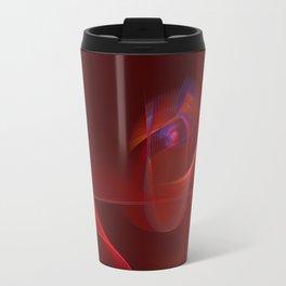 Burning Rose Travel Mug