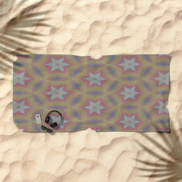 Ann Arbor chalk 6233 Beach Towel