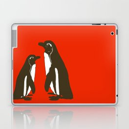 Animals Illustration - Penguins Laptop & iPad Skin