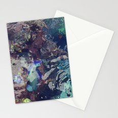 coral waters Stationery Cards