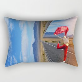The theater of life Rectangular Pillow