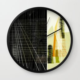 Archeology and Architecture   Wall Clock