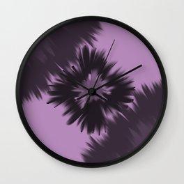 Crystal shards Wall Clock