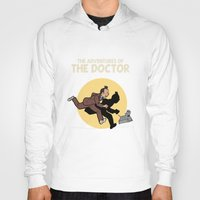tintin Hoodies featuring The Adventures Of The Doctor by Deborah Picher Illustrations
