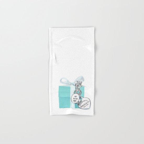 Jewelry Box Hand & Bath Towel