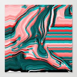 Track Pale Canvas Print
