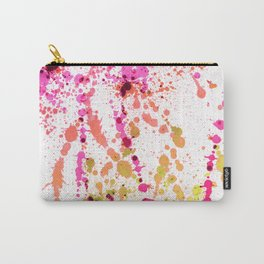 Uplifting Heat - Abstract Splatter Style Carry-All Pouch