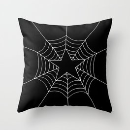 Star Web Throw Pillow