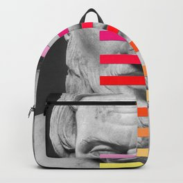 Sculpture With A Spectrum 2 Backpack