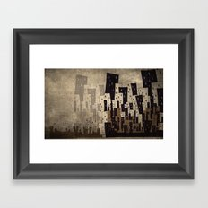 Busy City Where I came from Framed Art Print