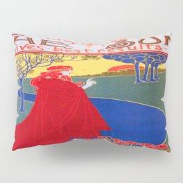 Vintage poster - The Sun Pillow Sham