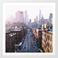 Chinatown, NYC Art Print