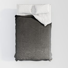 Silver & Black Glitter Gradient Comforters