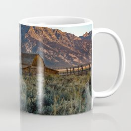 Wyoming - Moulton Barn and Grand Tetons Coffee Mug