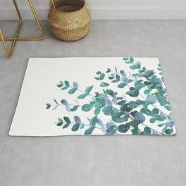 Eucalyptus Teal Blue Green Delight #1 #foliage #decor #art #society6 Rug