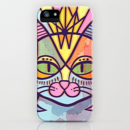 Oda al gato iPhone Case
