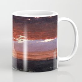 Beacon off Mount Desert Island, Maine by Frederic Edwin Church Coffee Mug
