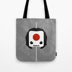 Marshmallow Katana Tote Bag