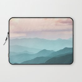 Smoky Mountain National Park Sunset Layers II - Nature Photography Laptop Sleeve