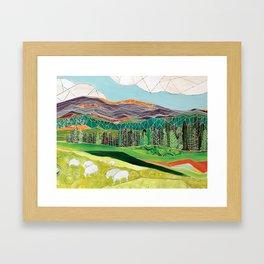 The Flock Framed Art Print