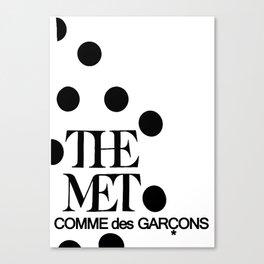 the meet Canvas Print