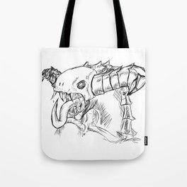 Demonic Awesomeness Tote Bag