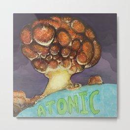 Atomic Metal Print