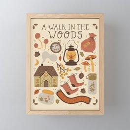 A Walk in the Woods Framed Mini Art Print