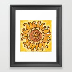 Connected in Energy Framed Art Print
