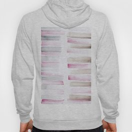 25  | 181101 Watercolour Palette Abstract Art | Lines | Stripes | Hoody