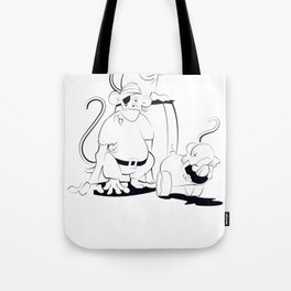A Scurvy Pirate Crew Tote Bag